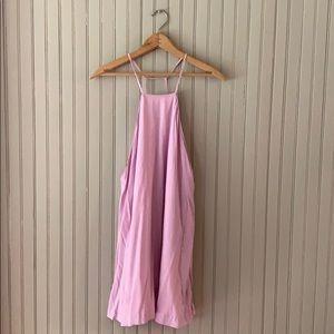 Tobi Backless A Line Mini Dress